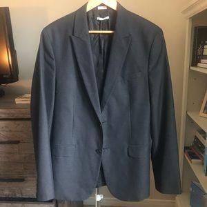 Calvin Klein Slim-fit Blazer (Black)